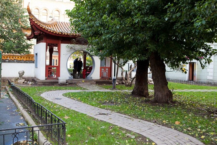 Сад Дружбы Санкт-Петербург